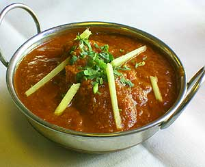lamb curry served spicy or mild